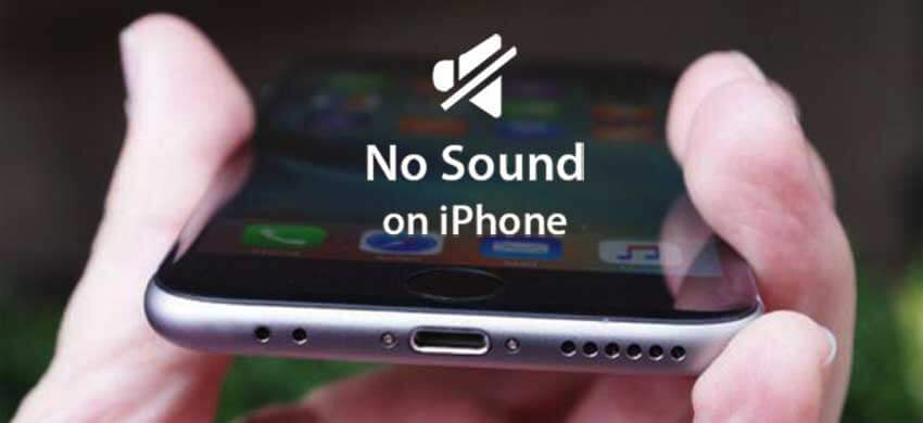 Iphone No Sound