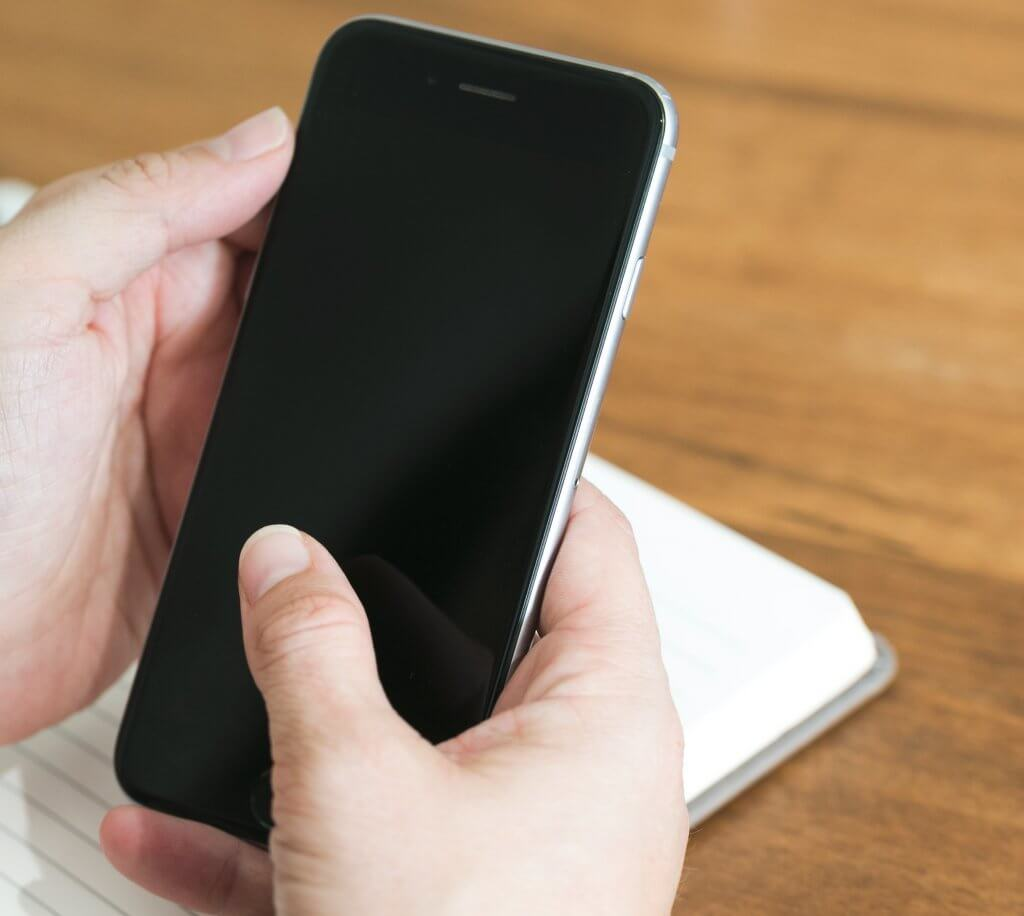 Mobile Phone Blank Screen 1024x916